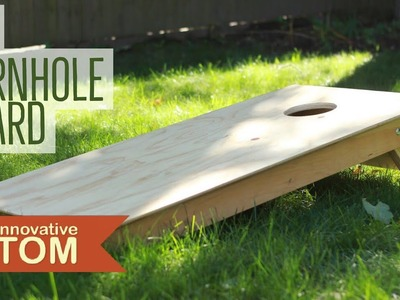 How To Make Cornhole Boards, Bag Storage, Nice Looking, Fast And Easy.