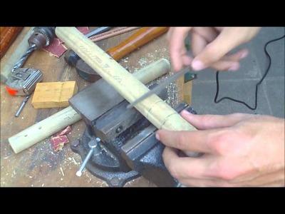 How to Make Nunchucks (Nunchaku) Full Video