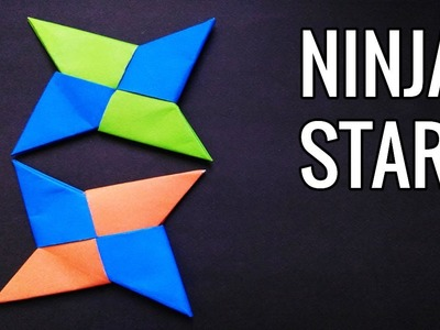 How to make Paper Shaolin Ninja Star |  Cool craft ideas with Paper | Origami tutorial