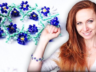 How to Make Stretchy Flowers Bead Bracelet