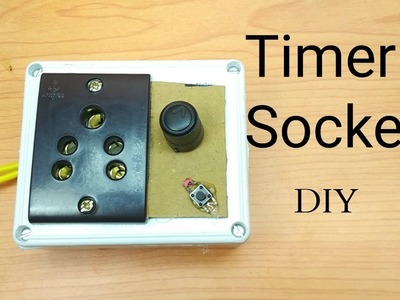 """How to make timer switch for """"light,mobile gadgets"""" without any IC at home