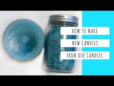 How to melt candle wax (English) - At Home with Reena