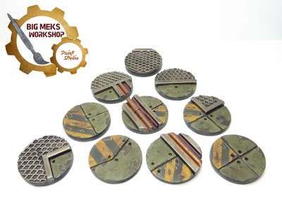 How To Paint Industrial Bases Quick And Easy Tutorial.