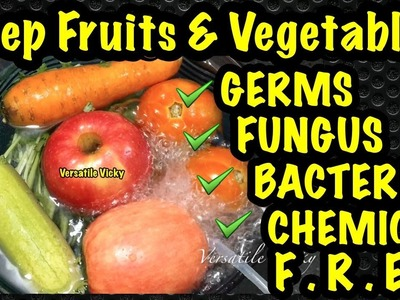 How To Remove Chemicals From Fruits & Vegetables | Fruit & Vegetable Purifier Demo Test Review