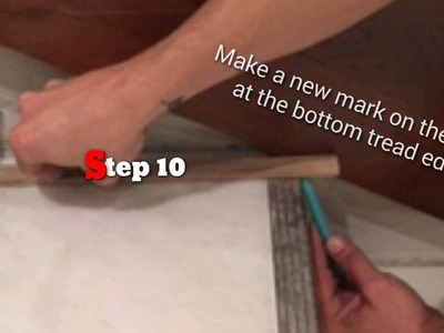 How to scribe skirt boards into any Stairway flawlessly!!