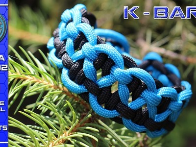 How To Tie a Paracord Bracelet KBK  - BAR without buckle