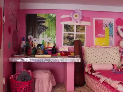 HUGE American Girl Doll House Tour 2014 | Rockstar13studios