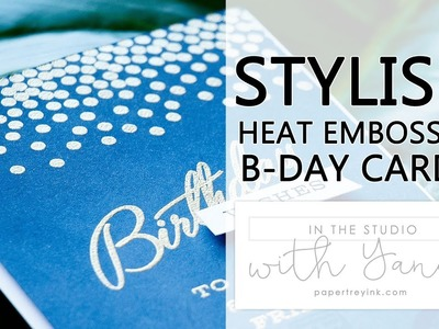 In The Studio With Yana | Stylish Birthday Cards Personalized with Color