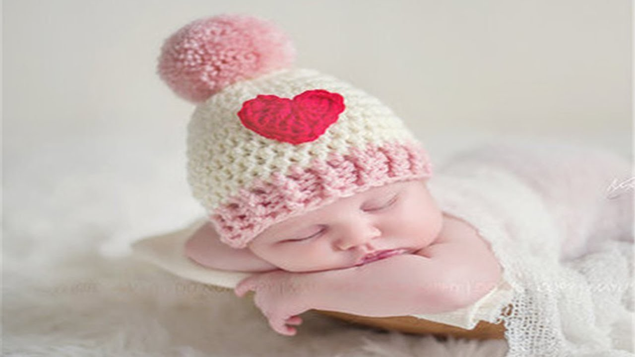 Knitted Beanie For 6 Month Old