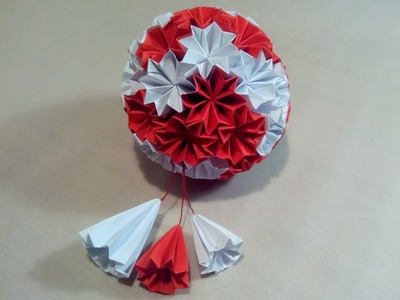 Kusudama Superball Origami (Winters Sakura's Tutorial)