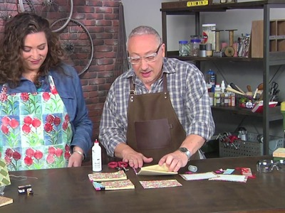 Learn a book binding technique on Make It Artsy with Joe Rotella (207-3)