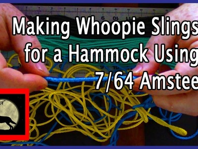 Making Whoopie Slings for a Hammock Using 7.64 Amsteel