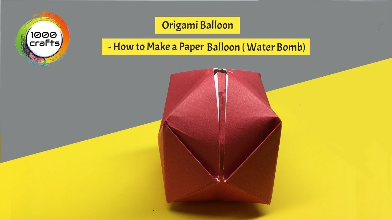 How To Make An Origami Revealed Flower