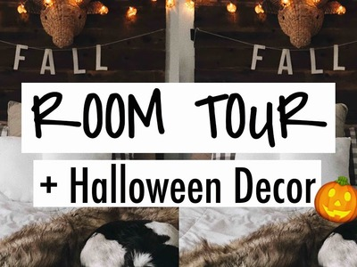 ROOM TOUR + AUTUMN.HALLOWEEN DECOR! | Faye Claire