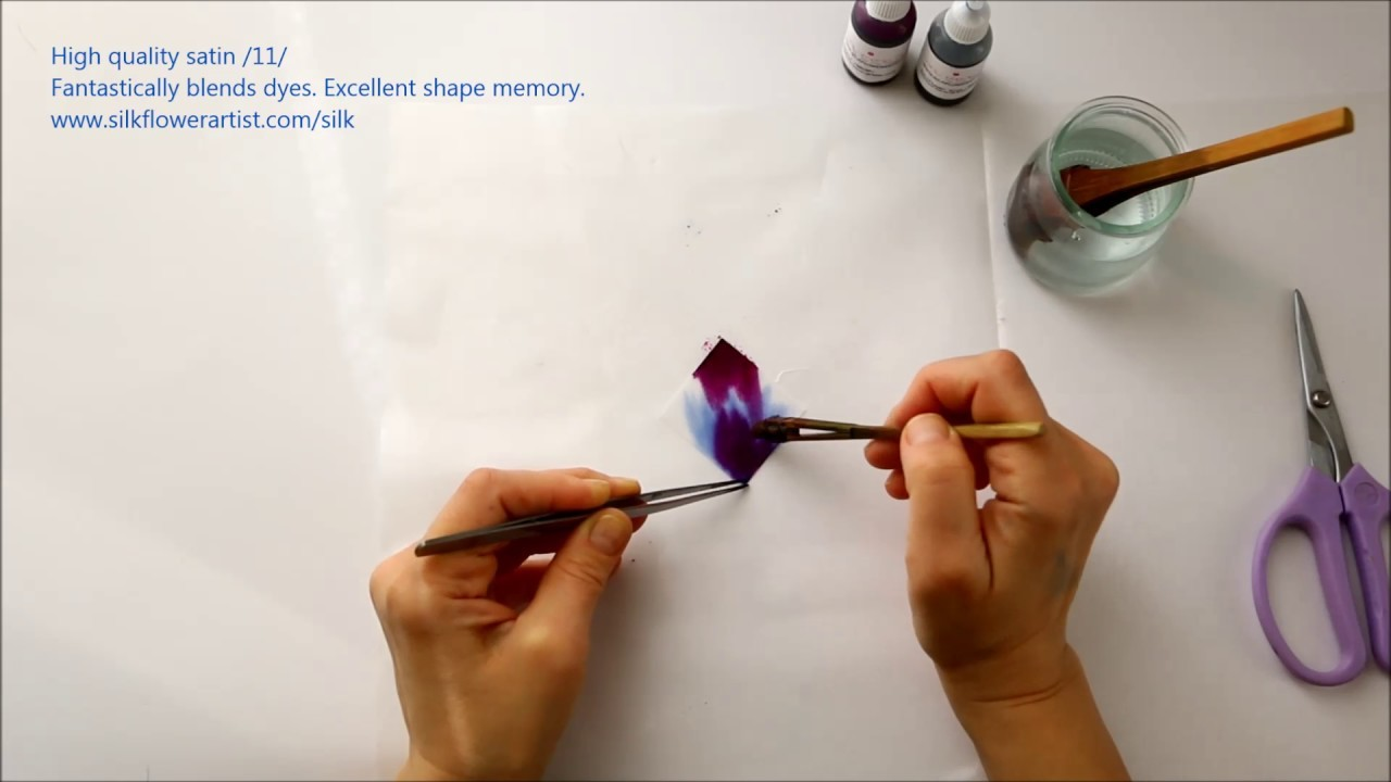 Silk Flower Making High Quality Satin11 My Crafts And Diy Projects