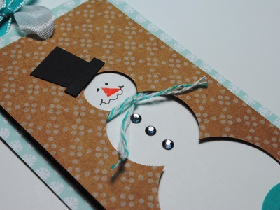 Stampin' Up! Circle Punch Snowman