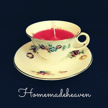 Tea Cup Candle made to order