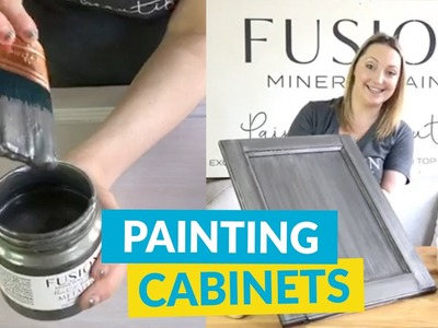 Thinking Of DIY Painting Your Kitchen Cabinets? Watch This!