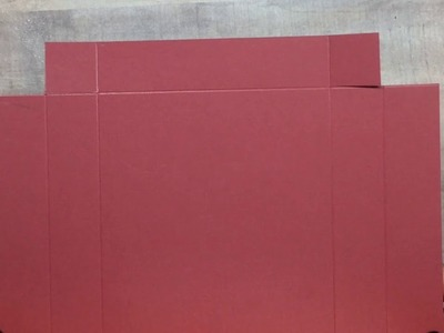 Tutorial: One Sheet Stationery Box (A2  Sized Cards) - SIMPLY SHANTA