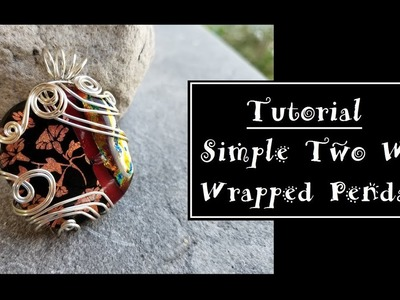 Two Wire Simple Pendant