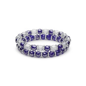 Violaceous Stretch Bracelets Combination