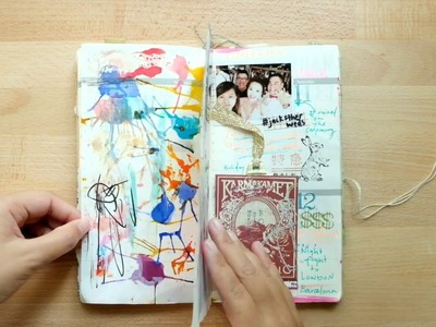Weekly Journal Flip Through 01   Midori Travelers Notebook