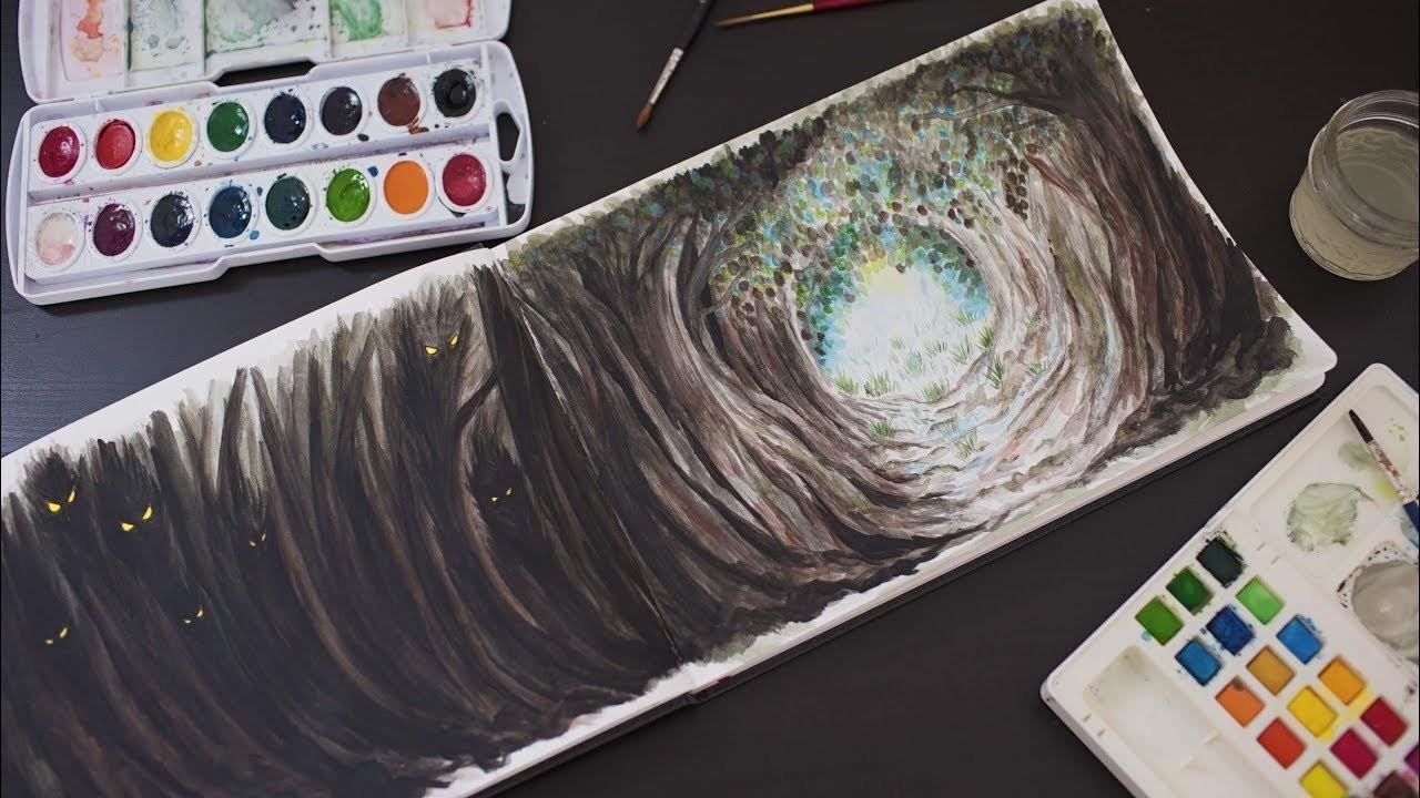 Art Journal Ideas | A Path UnKnown | ANN LE