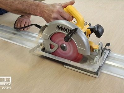 Benefits of a Track Saw  |  Woodworkers Guild of America