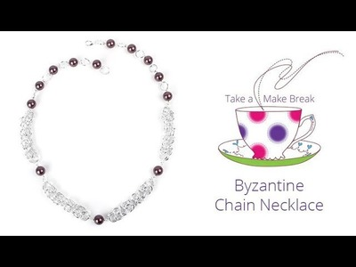 Byzantine Chain Necklace | Take a Make Break