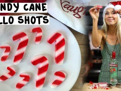 Candy Cane Jello Shots - Tipsy Bartender