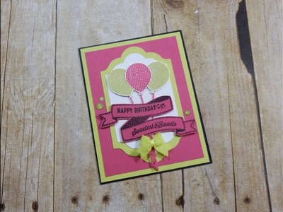 Collaboration with Koren - One Stamp Set 2 Cards - Girl Birthday Card