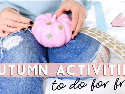 Cosy Activities and DIYs to try in Autumn for FREE or Cheap ????????????  Fall 2017