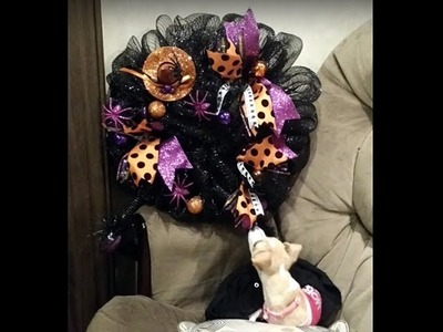 Crafting with Edith Witch Wreath 1