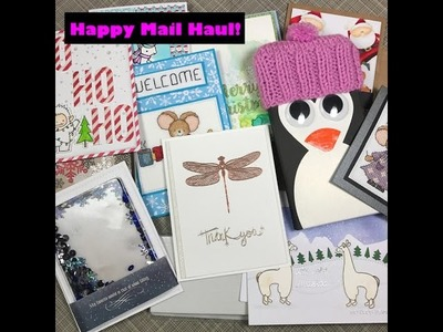 December 2016 Happy Mail Haul! | Cards from YOU! | Studio Katia Haul