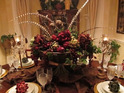 Dining Room Table Centerpieces Ideas