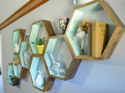 DiWyatt: How to Assemble Honeycomb Shelves