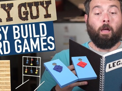 DIY Guy: How To Build Yard Games!