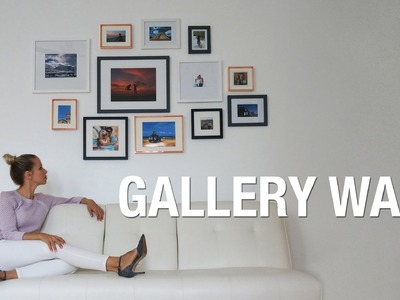 DIY photo wall | GALLERY WALL | Superholly
