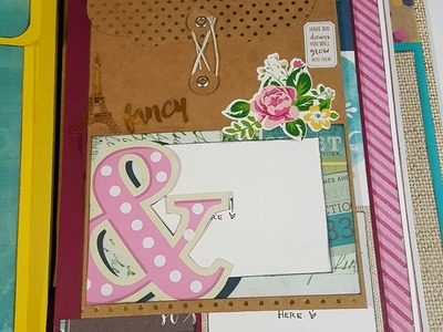 Final Review: Mix & Match Mini Clipboard scrapbook So Fancy Collection Part 2 of 2