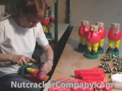 How a Wooden Nutcracker Is Made