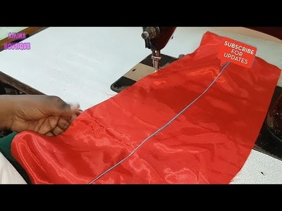 How to Attach Gum Dori Piping in Anarkali Lehenga and Ghagra