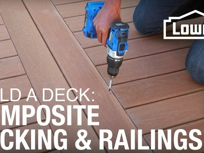 How To Build a Deck | Composite Decking & Railings (3 of 5)