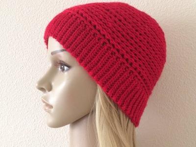 How To Crochet A Hat, Lilu's Handmade Corner Video # 191