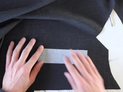 How to: Double welt pockets - Part 1.2
