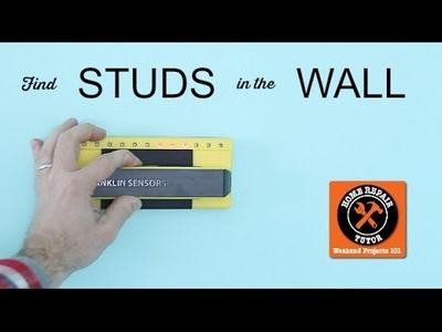How to Find a Stud in the Wall -- by Home Repair Tutor