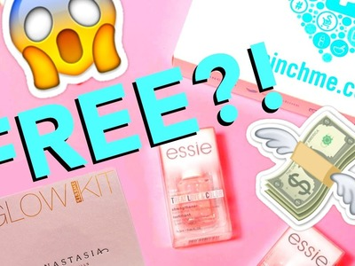 HOW TO GET FREE SAMPLES ONLINE?! PinchMe Unboxing!