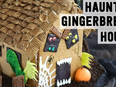 How to Make a Haunted Gingerbread House   Food Network