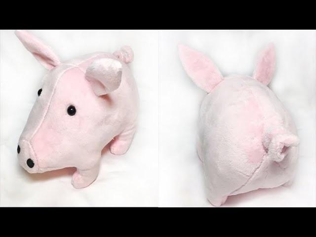 How to make a Pig Plushie- Tutorial