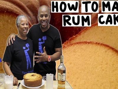 How to make a Rum Cake - Tipsy Bartender