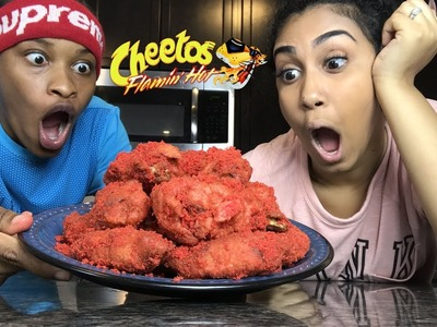 HOW TO MAKE HOT CHEETO CHICKEN WINGS!!! FT. PERFECTLAUGHS